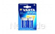 Varta high energy - lr14 - mn1400 - c -  bl.2st - 4914121412