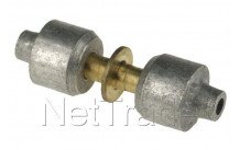 Universel - Lokring brass coupling d. 2 mm nk-ms-00 - NKMS002