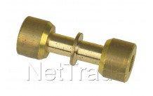 Universel - Lokring messing koppeling d=5mm  5 nk-ms-00 - NKMS005