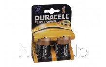 Duracell plus - mn1300 - lr20-d - 1 .5v - bl. 2pcs - MN1300