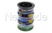 Black&decker - Trimmer spool for grass trimmer  a6441 - A6441X3XJ