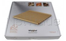 Whirlpool - Pizza stone  - 350x345x41.5mm - 484000000276