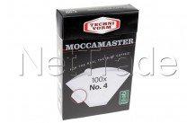 Moccamaster - Filter paper no. 4 (100 pcs) - 85022