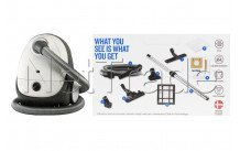 Nilfisk - Vacuum cleaner one allergy eu - 128390146