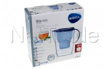Brita - Marella cool blue + 4 x maxtra+ filtering cartridges - 1040846