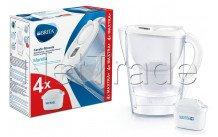 Brita marella cool white + 4 maxtra+ filter - 1040691