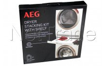 Aeg - Stacking kit with extendable rack for aeg washing machines and dryers  skp11gw - 9029797942