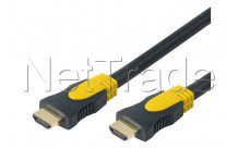 Erard - Hdmi 1.4 flex - 4k ultra hd - high speed with ethernet - male / male type -  2m - 726830