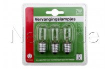 Universel - Night light replacement bulb7w/e14 for 18223
