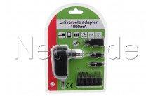 Universeel - Netvoeding / adapter  1000ma - 161000
