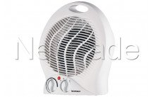 Tecnolux - Electric heater (blower) 2000w-3 adjustable positions – adjustable thermostat - PT2004