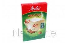 Melitta - Koffiefilter melitta 1x2/40 fsc label - 6658212