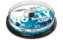Emtec dvd + rw 4, 7 gb 4 x cb cakebox (10 pcs) - ECOVPRW47104CB
