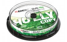 Emtec dvd-rw 4, 7 gb 4 x cb cakebox (10th/pcs) - ECOVRW47104CB
