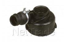 Whirlpool - Pump housedishwasher motor - 481236018546