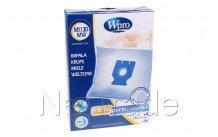 Wpro - Miele dust bag microfibre mi130-mw-fjm-gn-4 pcs - 481281718628