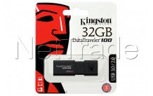 Kingston datatraveler 100 generation 3 - 32gb usb3.1 flash drive black - DT100G332GB
