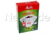 Melitta - Pa 1x4/100   aromazones fsc label - 6658199