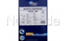 Whirlpool - Bs258-mw stofzuigerzak bosch / siemens - altern.  4st + 1 filtre - 481281718609