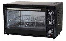 Tecnolux - Mini oven 33 l 1600w black/stainless steel - GT33RC01NOIR