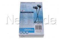 Universeel - Oortelefoon 3.5mm 1.2m - 50910