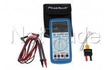 Peaktech - Multimeter digitaal peaktech pt3335 + temp.-40/1000° - P3335