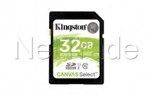 Kingston technology canvas select 32gb sdhc uhs-i klasse 10 flashgeheugen - SDS232GB