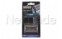 Braun - Shaving cassette series 3 - 32s - silver - 81633297