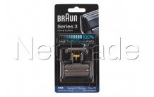 Braun - Combi pack flex integral (505) - series 3 - 31b - black - 81387938