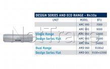 Whirlpool - Airco unit amc993   h/c r410a  18k btu/h - 5.200w - 481281718859