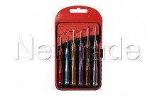 Cogex - Precision screwdriver set 6pcs - 16549
