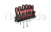 Cogex - Set of 18 pcs screwdrivers on rack - 16184