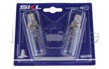 Universel - Cooker hood bulb - t25l - 40w - e14 - set 2pcs