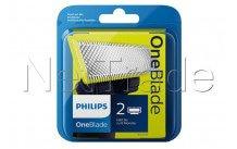 Philips - Foil shaver - oneblade qp220/55 - 2 pcs - QP22050