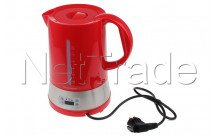 Tecnolux - Water kettle with temperature selection, content 1.70l, power 1850w, color rood - PB17M1RT