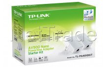 Tp-link - Av500 nano powerline ethernet adapter kit ultra compact 500mbps powerline 100mbps 2-pack - PA4010KIT