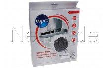 Wpro - Carbon filter type 58  -  set - 484000008782