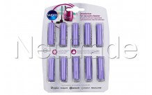 Whirlpool - 10 cartridges for vacuum cleaner lavander - 484000008607