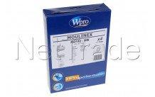 Whirlpool - Mo142-mw stofzuigerzak moulinex - altern.  - 4 stuks + 1 motorfilter - 481281718621