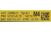 Bosch - Pcb main board assy - 00655545