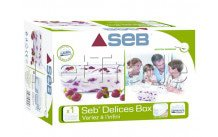 Seb - Container with lid cpl yoghurtmaker delices - 1 l - XF101001