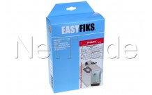 Easyfiks - Vacuum cleaner bag poly prop. philips oslo  box - HR693810