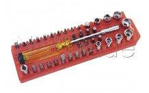 Cogex - Adjustable screwdriver with screw bits - 16725