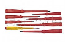 Cogex - Sheathed screwdriver 8-piece set - 16127