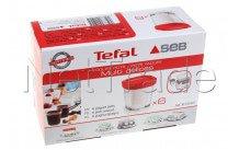 Seb - Glass jars yogurt machine -set 6pcs - XF100501