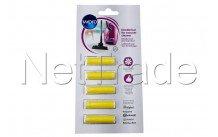 Wpro - 5 cartridges for vacuum cleaner lemongrass - 484000008624
