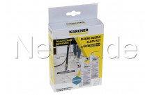 Karcher - Microfibre cloth set for floor nozzle easyfix - 2pcs - 28632590