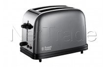 Russell hobbs - Toaster colours storm grey long slot - 2139256
