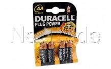 Duracell plus-mn1500 1 .5v - aa - lr06 - -bl. 4pcs - MN1500
