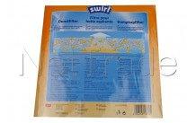Swirl - Cooker hood filter 140 gr 47x114mm - 6531737